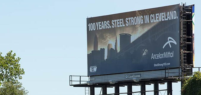 ArcelorMittal 100 Years Steel Strong Campaign
