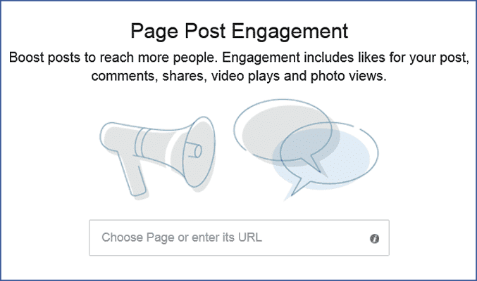 Boost Facebook posts to increase their reach.