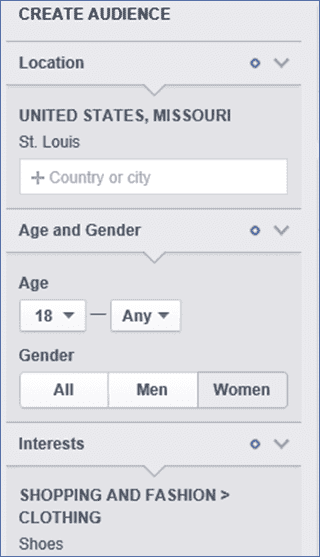 Create a custom Facebook Audience Insights report. It's easy!