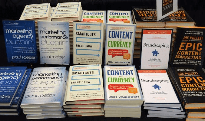Books written by speakers at Content Marketing World 2014